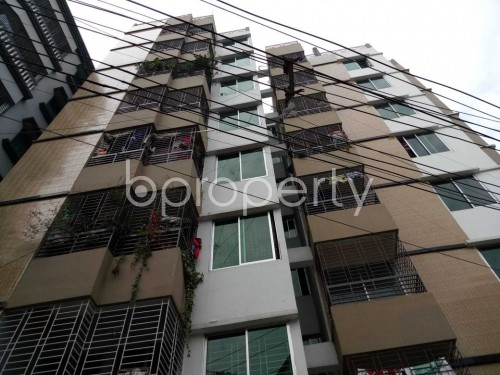 Front view - 3 Bed Apartment for Sale in Khilgaon, Dhaka - 1853371