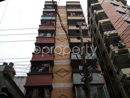 Front view - 3 Bed Apartment for Sale in Khilgaon, Dhaka - 1853479