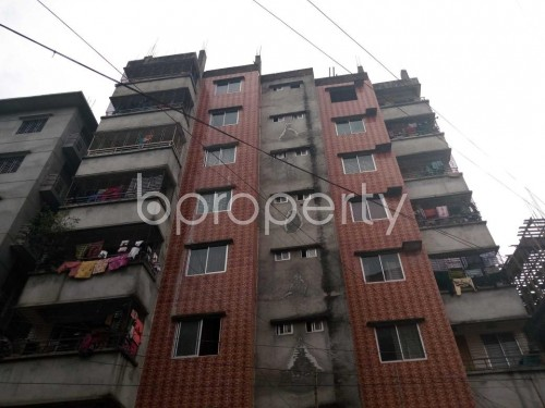 Front view - 3 Bed Apartment for Sale in Bashabo, Dhaka - 1853489