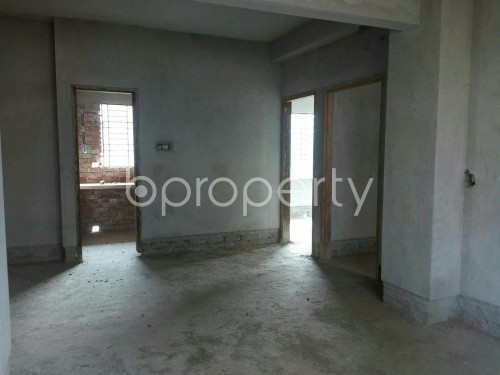 Dine/Dining - 3 Bed Apartment for Sale in Aftab Nagar, Dhaka - 1853942