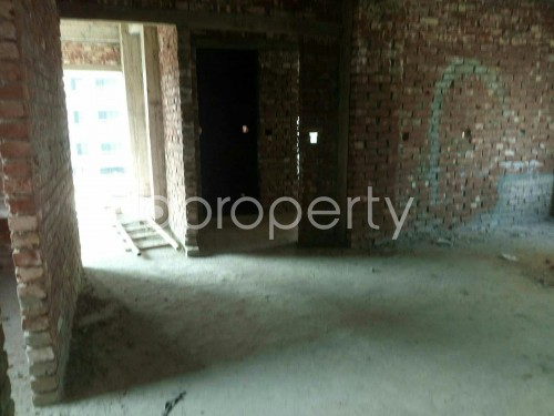Dine/Dining - 3 Bed Apartment for Sale in Aftab Nagar, Dhaka - 1853943