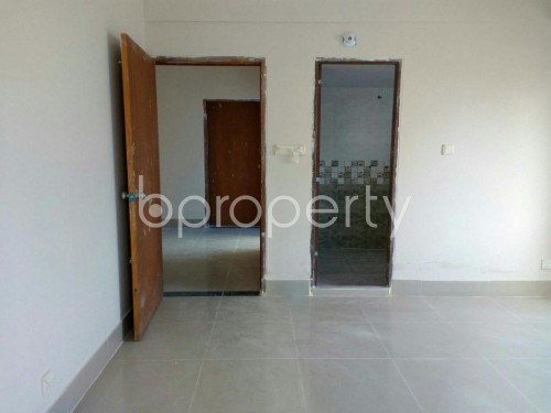 Bedroom - 3 Bed Apartment for Sale in Aftab Nagar, Dhaka - 1853945