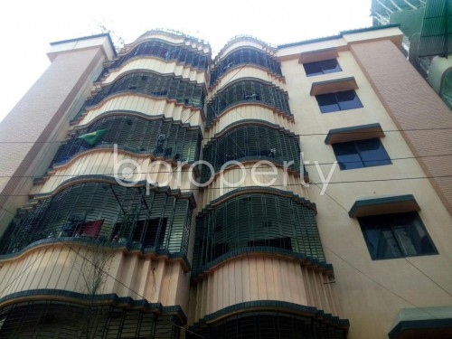 Front view - 3 Bed Apartment to Rent in Mohakhali, Dhaka - 1854317