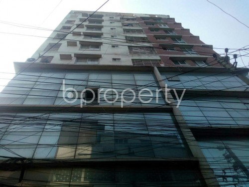 Front view - 3 Bed Apartment for Sale in Rampura, Dhaka - 1854321