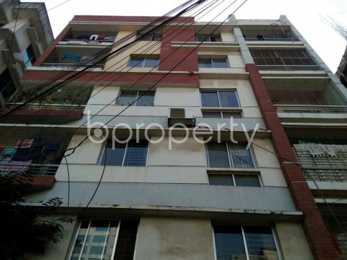 Front view - 3 Bed Apartment for Sale in Uttara, Dhaka - 1854835
