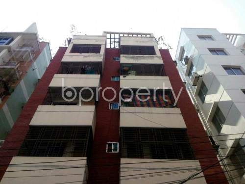 Front view - 3 Bed Apartment for Sale in Bashundhara R-A, Dhaka - 1854844