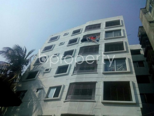 Front view - 3 Bed Apartment for Sale in Malibagh, Dhaka - 1854871