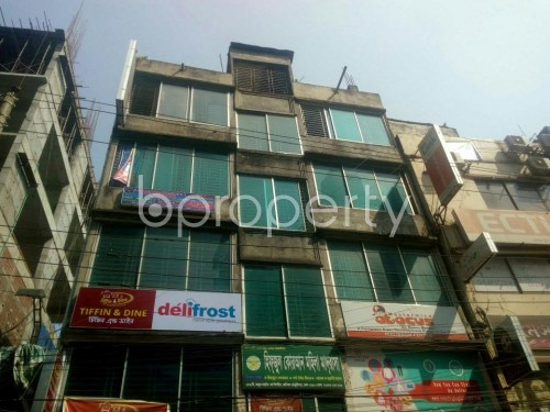 Front view - Office for Sale in Malibagh, Dhaka - 1854892