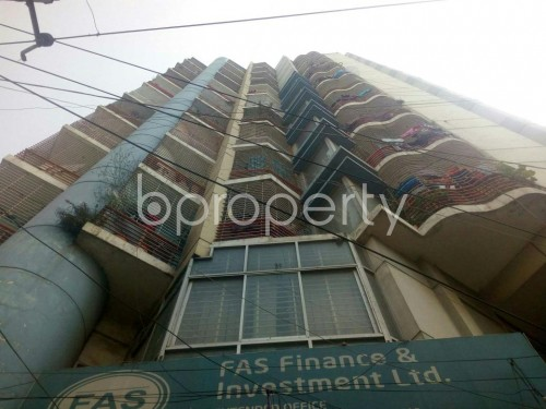 Front view - 3 Bed Apartment for Sale in Rampura, Dhaka - 1854942
