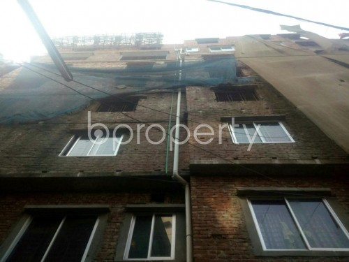Front view - 3 Bed Apartment for Sale in Malibagh, Dhaka - 1855044