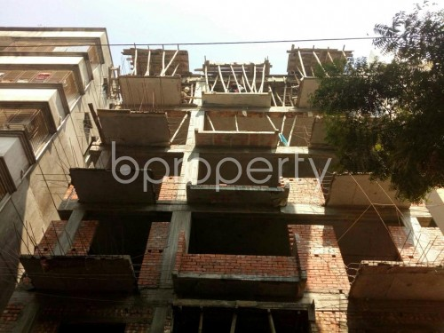 Front view - 4 Bed Apartment for Sale in Banasree, Dhaka - 1854939