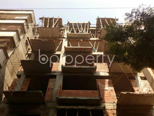 Front view - 4 Bed Apartment for Sale in Banasree, Dhaka - 1854940