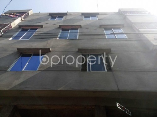 Front view - 3 Bed Apartment to Rent in Ibrahimpur, Dhaka - 1855151