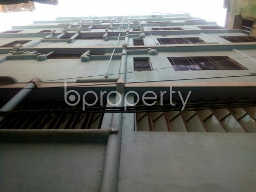 Front view - 3 Bed Apartment to Rent in Mohakhali, Dhaka - 1855146