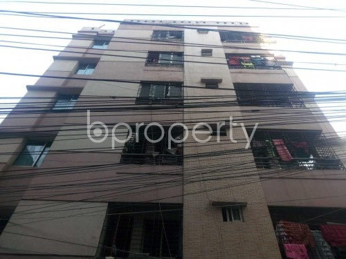 Front view - 3 Bed Apartment to Rent in Hatirpool, Dhaka - 1855598