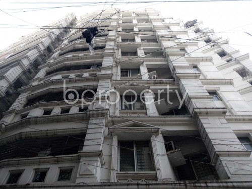 Front view - 3 Bed Apartment for Sale in Sutrapur, Dhaka - 1855609