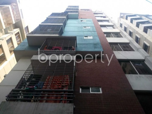 Front view - 3 Bed Apartment to Rent in Hatirpool, Dhaka - 1855625