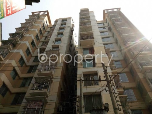 Front view - 3 Bed Apartment for Sale in Maghbazar, Dhaka - 1855678