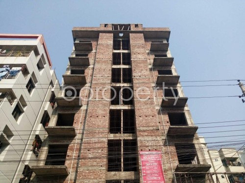Front view - 3 Bed Apartment for Sale in Uttara, Dhaka - 1855699