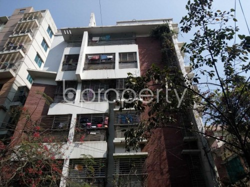 Front view - 3 Bed Apartment to Rent in Lalmatia, Dhaka - 1855775