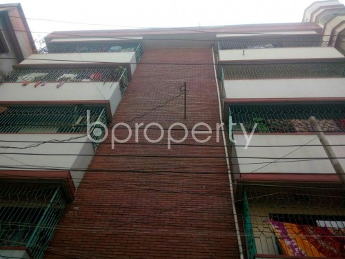 Front view - 1 Bed Apartment to Rent in Rampura, Dhaka - 1855800