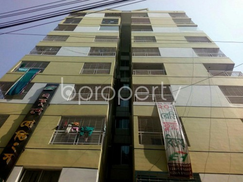 Front view - 3 Bed Apartment for Sale in Dakshin Khan, Dhaka - 1855823