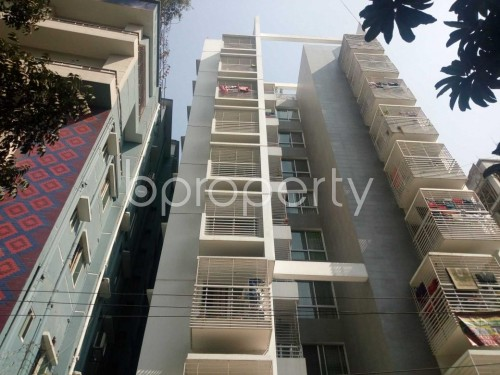 Front view - 3 Bed Apartment to Rent in Lalmatia, Dhaka - 1855856
