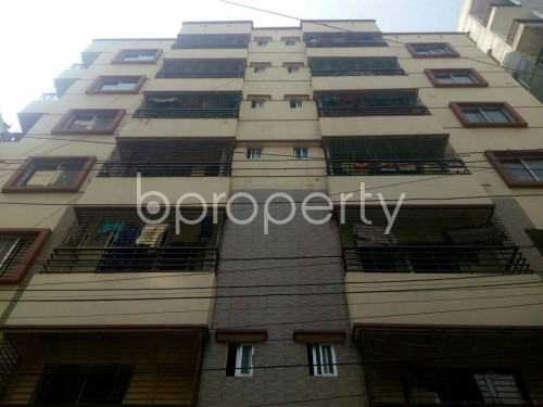 Front view - 3 Bed Apartment for Sale in Dakshin Khan, Dhaka - 1855889