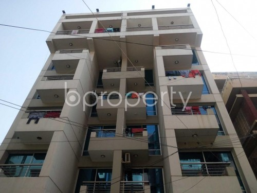 Front view - 3 Bed Apartment to Rent in Lalmatia, Dhaka - 1856007