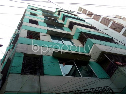 Front view - 3 Bed Apartment for Sale in Hazaribag, Dhaka - 1856060