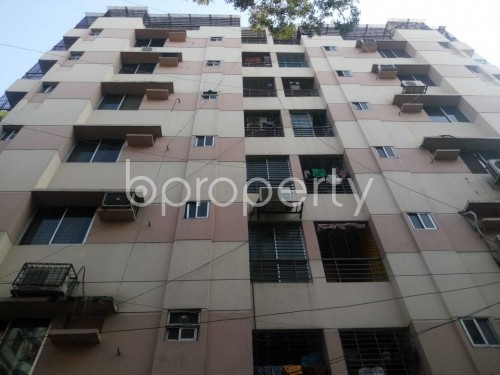 Front view - 3 Bed Apartment to Rent in Lalmatia, Dhaka - 1856069