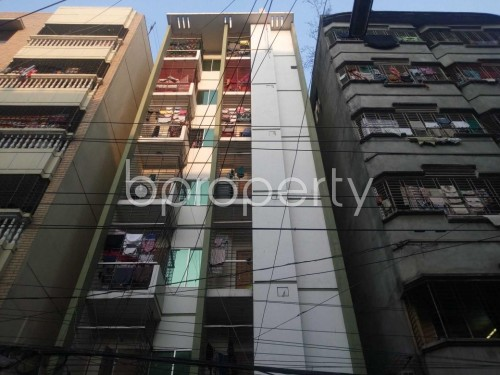 Front view - 2 Bed Apartment to Rent in Lalmatia, Dhaka - 1856077