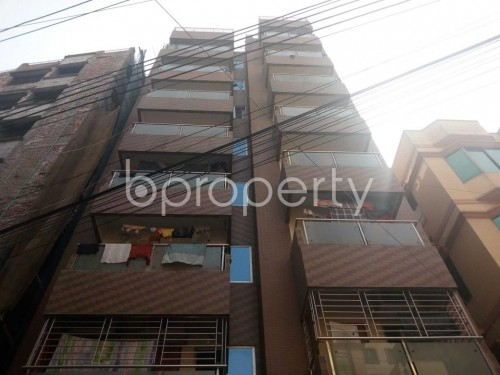Front view - 3 Bed Apartment to Rent in Kafrul, Dhaka - 1856385