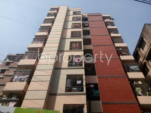Front view - 3 Bed Apartment to Rent in Kafrul, Dhaka - 1856406