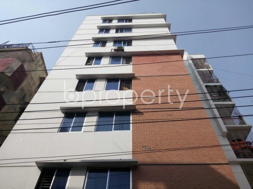 Front view - 3 Bed Apartment for Sale in Khilgaon, Dhaka - 1856421
