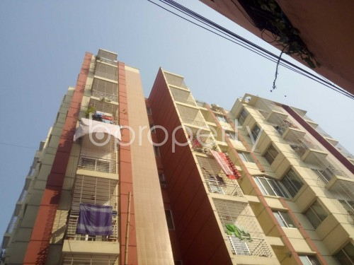 Outside view - 2 Bed Apartment to Rent in Nadda, Dhaka - 1856575