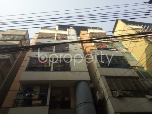 Front view - 3 Bed Apartment to Rent in Nadda, Dhaka - 1856578