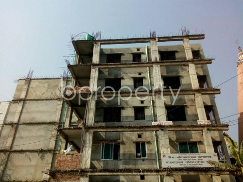 Front view - 3 Bed Apartment for Sale in Bagichagaon, Comilla - 1856597