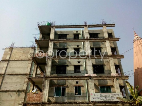 Front view - 3 Bed Apartment for Sale in Bagichagaon, Comilla - 1856598