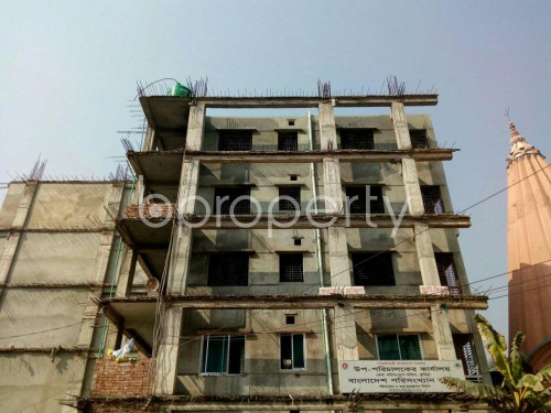 Front view - 3 Bed Apartment for Sale in Bagichagaon, Comilla - 1856599