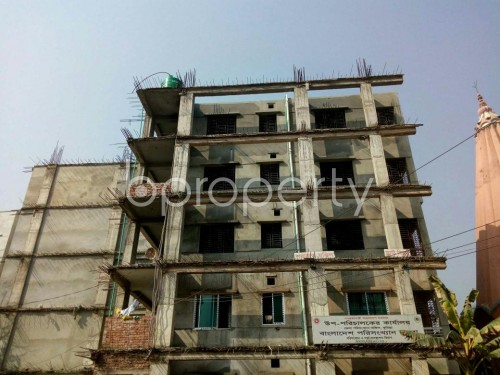 Front view - 3 Bed Apartment for Sale in Bagichagaon, Comilla - 1856600