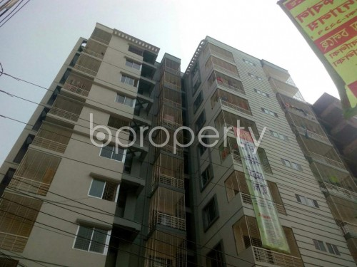 Outside view - 3 Bed Apartment for Sale in Malibagh, Dhaka - 1856683