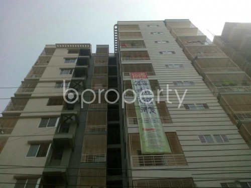 Front view - 3 Bed Apartment for Sale in Malibagh, Dhaka - 1856688