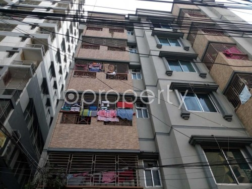 Front view - 3 Bed Apartment to Rent in Shyamoli, Dhaka - 1856928