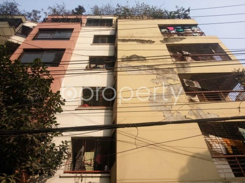 Front view - 3 Bed Apartment to Rent in Shyamoli, Dhaka - 1856935
