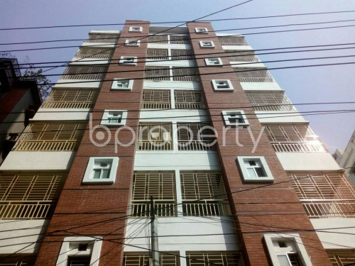 Front view - 3 Bed Apartment for Sale in Malibagh, Dhaka - 1856919
