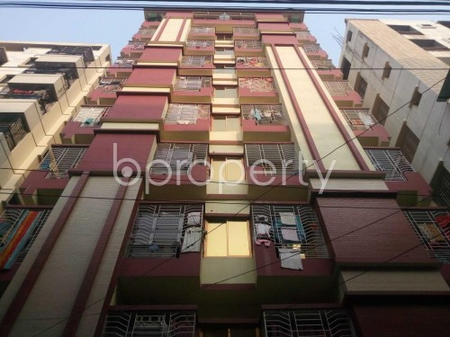 Front view - 3 Bed Apartment to Rent in Hatirpool, Dhaka - 1856966