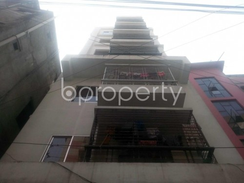 Front view - 3 Bed Apartment to Rent in Hatirpool, Dhaka - 1857278