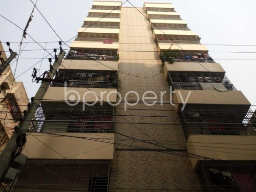 Front view - 3 Bed Apartment to Rent in Shyamoli, Dhaka - 1857296