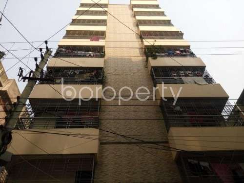 Front view - 3 Bed Apartment to Rent in Shyamoli, Dhaka - 1857304